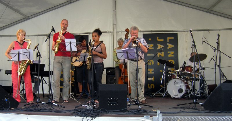 Langnau Jazz Nights 2007: Junior Jazz Meeting on the Viehmarktplatz. July 28th 2007.